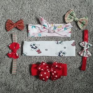 Other - Christmas Bows/Headwraps